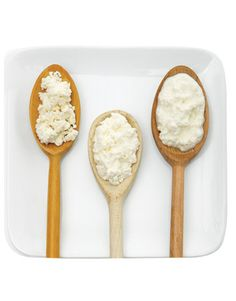 Three kinds of ricotta cheese and how to use them in recipes: crumbly, spreadable, and creamy: http://www.countryliving.com/cooking/about-food/fresh-ricotta-meals-0608#slide-3