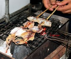 Traditional dried squid! I would try this