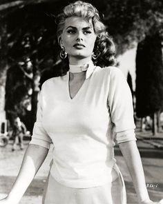 "Sophia Loren in ""Lucky to be a Woman"" (1955)"