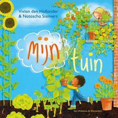 Mijn tuin is hét boek voor kinderen over de tuin, tuinieren en het buitenleven. Dit leuke, informatieve doeboek van Vivian den Hollander staat boordevol leuke weetjes over zaaien, ontkiemen, verpotten, maar ook over alle andere dingen die bij een (moes)tuin of groen balkon komen kijken: bloemen, beestjes en het weer! Propvol schitterende illustraties van Natascha Stenvert. € 8,99