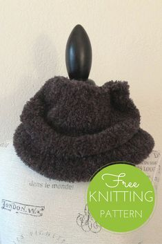 Eider Cowl Free Knitting Pattern - One Skein Project!