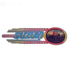 Vintage Iron-On/Suzuki Comet