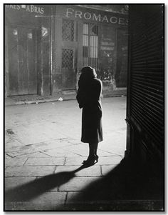 Brassai. Quincampoix Street ,1931.