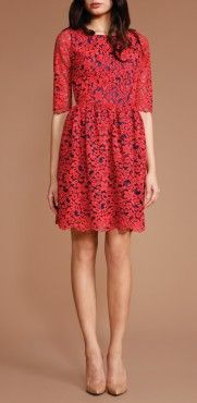 "Elizabeth H wore this dress on ""The View"" today.  Janelle Dress"