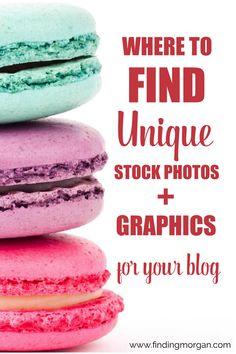 Make Your Own Blog Post Graphics Part 1: Where to Find Stock Photos + Graphics