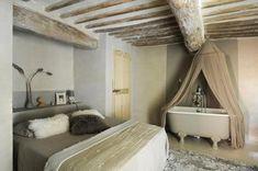 Die 62 besten Bilder von schlafzimmer mit Bad | Bed room, Attic ...