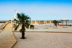 Having fun on this beautiful beach from Romania. Beautiful Beaches, Romania, Venus, Have Fun, Hotels, Street View, Venus Symbol