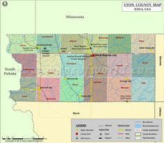 Lyon County Map for free download