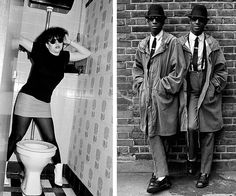 """Janette Backman: Lydia Lunch London 1981// Mod Twins London 1979  """"Made in the UK: the street style from Punk to Thatcher"""""""
