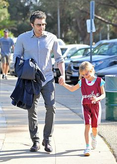Ben Affleck takes his daughter Violet to her basketball game Featuring: Ben Affleck,Violet Affleck Where: Los Angeles, California, United States When: 18 Nov 2013 Credit: WENN.com