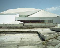 Skopje Opera House, Macedonia, 1979.  #socialist #brutalism #architecture