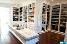 Closet. Yes please!