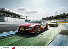 Photo from the 2012 Audi motorsport calendar by photographer Bernhard Spöttel. This guys images are amazing