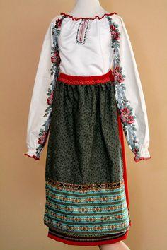 National Ukrainian Slavic Russian costume for door juliettaboutique