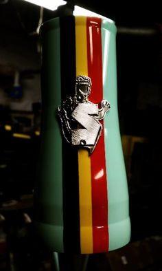 To paint SA flag colours on headtube in similar fashion?