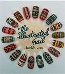 the illustrated nail -