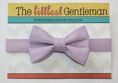 Lavender  Bow Tie kids toddler baby boys by TheLittlestGentleman, $15.00