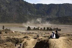 #asia #attraction #bromo #caldera #clouds #cone #crater #desert #gunung #hiking #horse #indonesia #java #landscape #mountain #natural #nature #peak #people #scenery #smoke #steam #stunning #travel #tropical #volcanic #volc