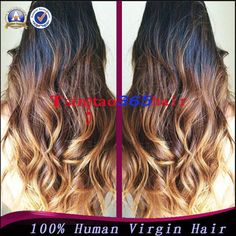 Cheap Loose Wave 3 Tone Ombre Wig Virgin Malaysia Blonde Ombre U Part Wig With Baby Hair For Black Women U Part Wig With Comb