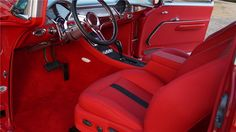 1955 CHEVROLET 210 CUSTOM 2 DOOR SEDAN - Interior - 161048