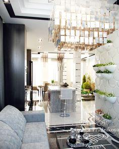 Дизайн кухни-столовой на первом этаже - Дизайн квартир