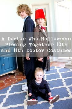 Need Doctor Who costumes for the 50th anniversary? Here's how we put together 10th and 11th Doctor costumes and how we'd do it differently next time!