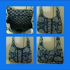 👜 NWOT Vera Bradley Large Hobo 👜 Brand New Never Worn Vera Bradley Large Shoulder Hobo In Retired Rare Blue Lagoon Pattern. This Bag Has So Much Space 1 Interior Zippered Pocket 2 Interior Slip Pockets. The Bag Has A Strong Magnetic Closure And Exterior Zippered Pocket Plus Rolled Shoulder Straps. Excellent Condition. Retails For: $78 + S&H +Taxes. Excellent Condition. Retails For: $78 + S&H + Taxes 🚫 NO TRADES 🚫 NO PayPal 🚫 NO OFFERS FINAL MARKDOWN 👜💕❤ Vera Bradley Bags Hobos
