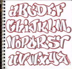 tipos de letras bonitas para tarjetas abecedario - Buscar con Google
