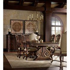Hooker Furniture Adagio 7 Piece Dining Set