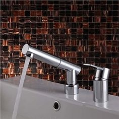 Another Faucet Choice Redecorating The Bathroom DIY Pinterest - Contemporary waterfall faucets riflessi from gessi