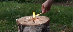 Bonfire Log Light 'n Go | Fire Starter |