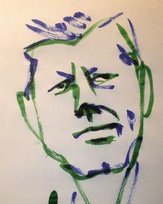 いいね!6件、コメント1件 ― @1mindrawのInstagramアカウント: 「#1mindraw #johnfkennedy #ジョンFケネディ #19170529 #birthday #誕生日 #portrait #筆ペン画」