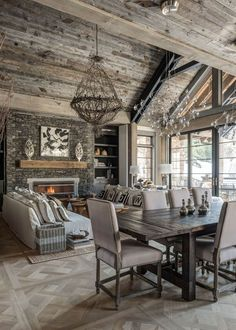 Adorable Home - Amazing rustic chalet in USA designed by Locati...
