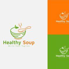 Healthy Hot Soup Logo Design Template, #Soup, #SPONSORED, #Hot, #Healthy, #Template, #Design Logo Design Template, Logo Templates, Sbf, Branding, Hot Soup, Design Web, Textile Design, Writing, Healthy