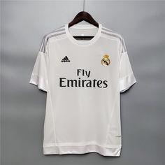 Mens Real Madrid Retro Home Jersey 2015/16 - XL - 183/188cm