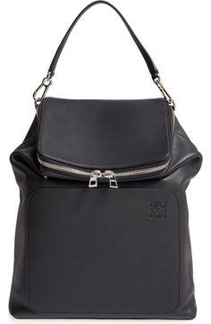 Main Image - Loewe Goya Calfskin Leather Backpack