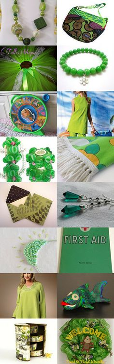 Going green!~Love and Promotion~ by Kathy Carroll on Etsy--Pinned with TreasuryPin.com https://www.etsy.com/treasury/NjY0Njk3M3wyNzIzNzc4MzM3/going-greenlove-and-promotion