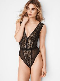 014b0de0a72 Browse the women s lingerie sale   clearance today at Victoria s Secret.  Save on all your favorite sexy styles including bodysuits