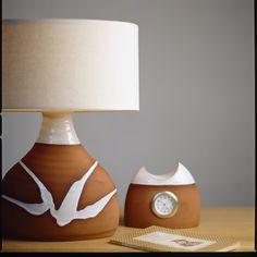 Classic range. Stephen Pearce Pottery. Irish Pottery, Irish Design, Pottery Shop, Earthenware, Beautiful Homes, Lamps, Table Lamp, Range, Traditional
