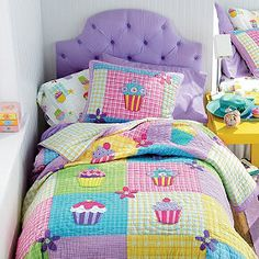 Cupcake Quilt Kids Quilt Bedding | Company Kids