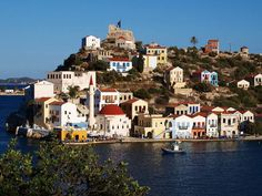 Kastelorizo or Megisti island information. A complete travel info guide to the island of Kastelorizo or Megisti in Greece. Information about the island history, worth sightseeings, lady of Ro World Most Beautiful Place, Beautiful Places, Amazing Places, Karpathos, Paradise On Earth, Greece Islands, Greece Travel, Mykonos, Greece