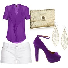 Cute! Already have purple heels