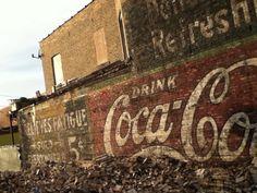 Oldschool Cocacola
