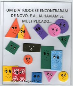 CANTINHODALU: LIVRO DAS FORMAS GEOMÉTRICAS Addition Worksheets, Triangle, Kids Rugs, Scrapbook, Education, Blog, Games, Children, Gabriel