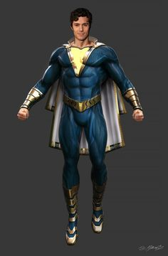 It was a real challenge bringing this character to life and we had an incredible team! Captain Marvel Shazam, Shazam Comic, Marvel E Dc, Superhero Characters, Dc Characters, Captain Universe, Dc Universe, Dc Comics, Flash Comics