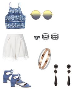 """""""Untitled #112"""" by ghgdancer1 on Polyvore featuring Tabitha Simmons, Zimmermann, Matthew Williamson, LULUS and Givenchy"""