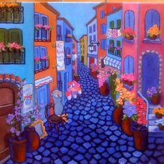 Le Rue des Fleurs et Rose...