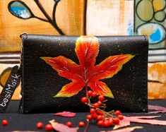 Handmade Leather Bags and Accessories by BestMarkStudio on Etsy Selling Handmade Items, Handmade Gifts For Her, Handmade Shop, Etsy Handmade, Handmade Crafts, Personalized Leather Wallet, Leather Bags Handmade, Etsy Crafts, Sell On Etsy