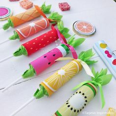 Fruit Birthday, Watermelon Birthday, 2nd Birthday, Summer Crafts, Crafts For Kids, Tutti Fruity Party, Fruit Party, Tropical Party, Ideas Para Fiestas