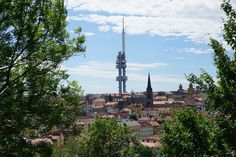 Žižkover Fernsehturm - TOWER PARK PRAHA